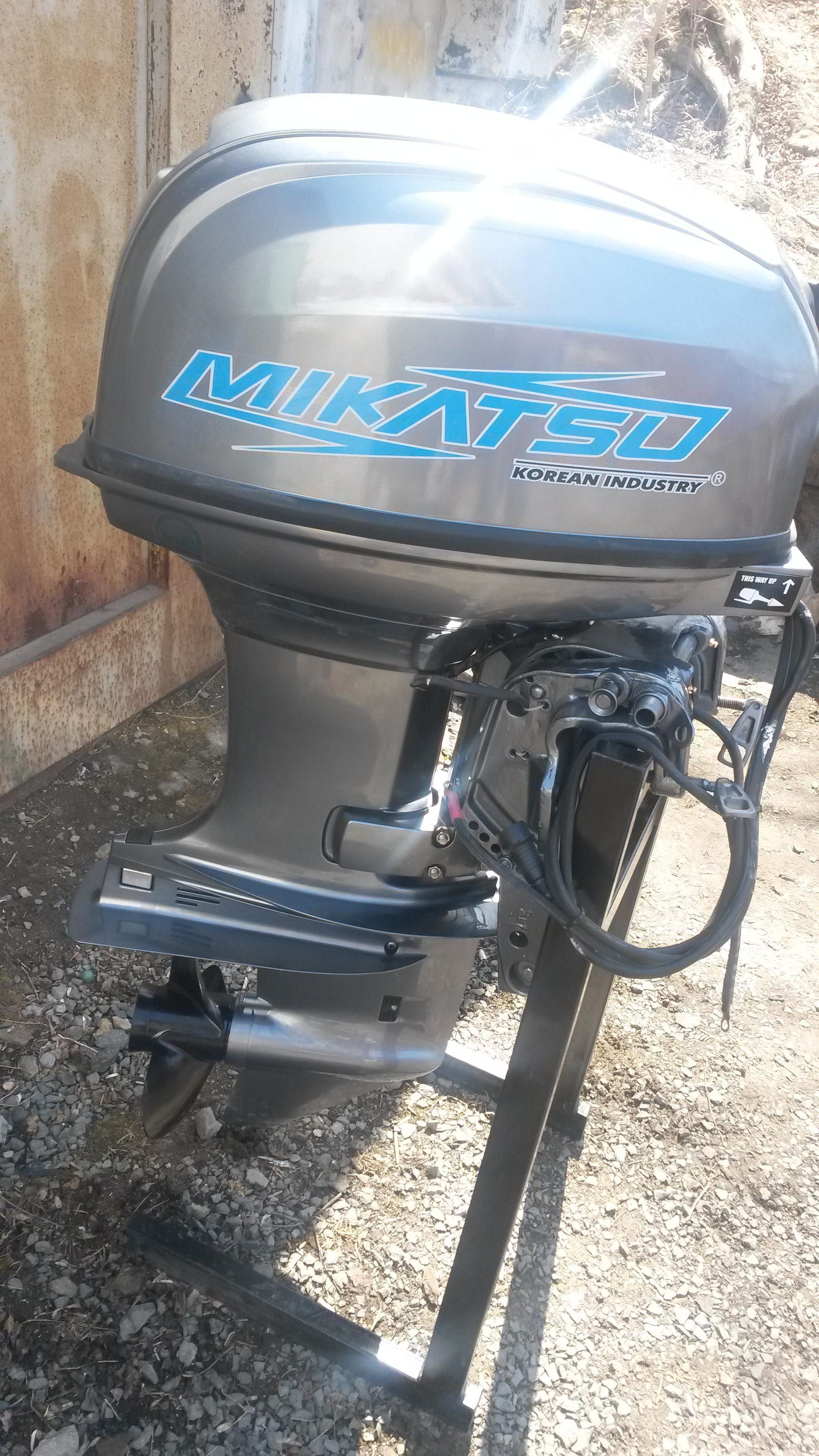 Отзывы о Микатсу (Mikatsu) Лодочные моторы Mikatsu из ЮКореи ПОмогите с выбором